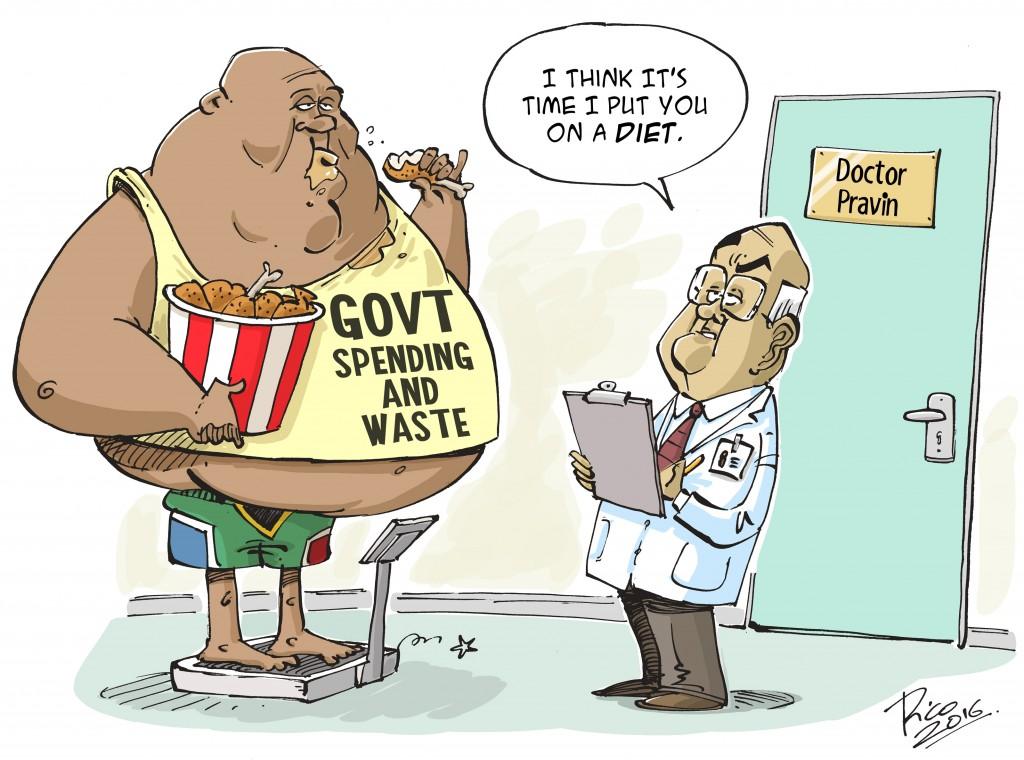 Budget 2016 Cartoon